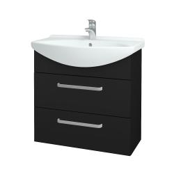 Dřevojas - Koupelnová skříň TAKE IT SZZ2 75 - N08 Cosmo / Úchytka T01 / N08 Cosmo (207755A)