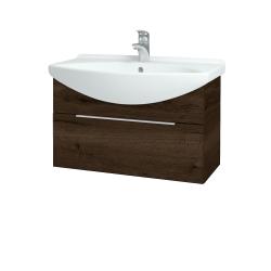 Dřevojas - Koupelnová skříň TAKE IT SZZ 75 - D21 Tobacco / Úchytka T05 / D21 Tobacco (279134F)