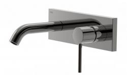 TRES - Jednopáková nástěnná baterieVčetně nerozdělitelného zabudovaného tělesa. Krátké ramínko 140mm (26220050KM)