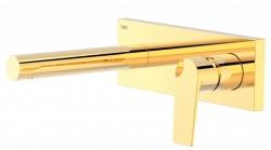 TRES - Jednopáková nástěnná baterieVčetně nerozdělitelného zabudovaného tělesa. Ramínko 163mm. (21120201OR)