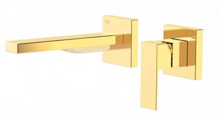 TRES - Jednopáková nástěnná baterieVčetně nerozdělitelného zabudovaného tělesa. Ramínko 185mm. (00620012OR)