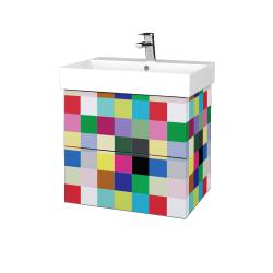 Dřevojas - Koupelnová skříň VARIANTE SZZ2 60 - IND Individual / IND Individual (260194)