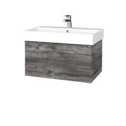 Dřevojas - Koupelnová skříň VARIANTE SZZ 70 - D10 Borovice Jackson / D10 Borovice Jackson (260606)