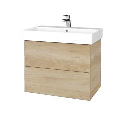 Dřevojas - Koupelnová skříň VARIANTE SZZ2 70 - D15 Nebraska / D15 Nebraska (261085)