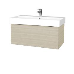 Dřevojas - Koupelnová skříň VARIANTE SZZ 85 - D04 Dub / D04 Dub (261498)