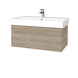 Dřevojas - Koupelnová skříň VARIANTE SZZ 85 - D17 Colorado / D17 Colorado (261573)