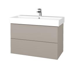 Dřevojas - Koupelnová skříň VARIANTE SZZ2 85 - N07 Stone / N07 Stone (262129)