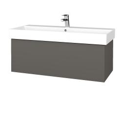 Dřevojas - Koupelnová skříň VARIANTE SZZ 100 - N06 Lava / N06 Lava (262587)