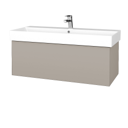 Dřevojas - Koupelnová skříň VARIANTE SZZ 100 - N07 Stone / N07 Stone (262594)