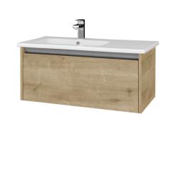 Dřevojas - Koupelnová skříň BONO SZZ 90 (umyvadlo Euphoria) - D09 Arlington / D09 Arlington (203627)