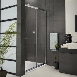 Aquatek - FAMILY B2 125, Sprchové dveře zasouvací 123-126cm, výplň sklo - čiré (FAMILYB2125-06)
