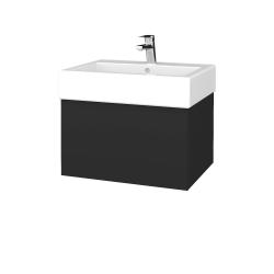 Dřevojas - Koupelnová skříň VARIANTE SZZ 60 - N03 Graphite / N03 Graphite (263515)