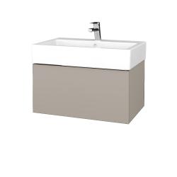 Dřevojas - Koupelnová skříň VARIANTE SZZ 70 - N07 Stone / N07 Stone (264000)