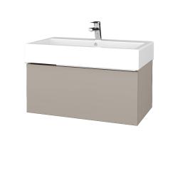 Dřevojas - Koupelnová skříň VARIANTE SZZ 80 - N07 Stone / N07 Stone (264475)