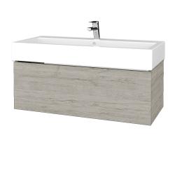 Dřevojas - Koupelnová skříň VARIANTE SZZ 100 - D05 Oregon / D05 Oregon (264796)