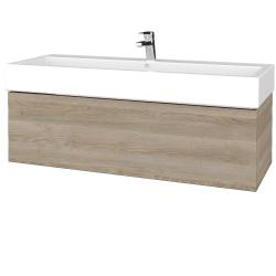 Dřevojas - Koupelnová skříň VARIANTE SZZ 120 - D17 Colorado / D17 Colorado (265335)