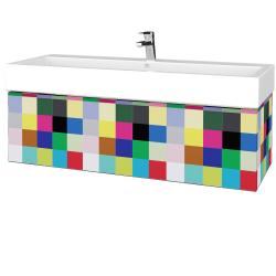 Dřevojas - Koupelnová skříňka VARIANTE SZZ 120 - IND Individual / IND Individual (265366U)