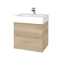Dřevojas - Koupelnová skříň VARIANTE SZZ2 60 - D15 Nebraska / D15 Nebraska (265786)