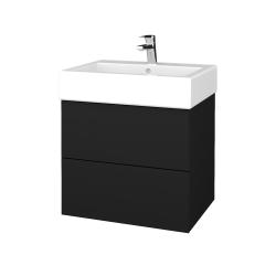 Dřevojas - Koupelnová skříň VARIANTE SZZ2 60 - N08 Cosmo / N08 Cosmo (265892)
