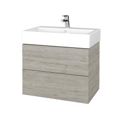 Dřevojas - Koupelnová skříňka VARIANTE SZZ2 70 - D05 Oregon / D05 Oregon (266202)