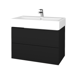 Dřevojas - Koupelnová skříň VARIANTE SZZ2 80 - N08 Cosmo / N08 Cosmo (266837)