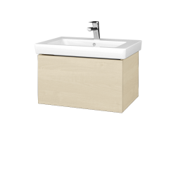 Dřevojas - Koupelnová skříň VARIANTE SZZ 65 - D02 Bříza / D02 Bříza (271336)