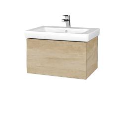 Dřevojas - Koupelnová skříň VARIANTE SZZ 65 - D15 Nebraska / D15 Nebraska (271411)