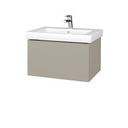 Dřevojas - Koupelnová skříň VARIANTE SZZ 65 - L04 Béžová vysoký lesk / L04 Béžová vysoký lesk (271480)