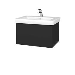 Dřevojas - Koupelnová skříň VARIANTE SZZ 65 - N03 Graphite / N03 Graphite (271497)