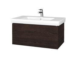 Dřevojas - Koupelnová skříň VARIANTE SZZ 80 - D08 Wenge / D08 Wenge (271855)