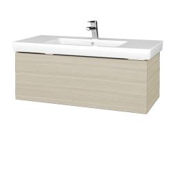 Dřevojas - Koupelnová skříňka VARIANTE SZZ 100 - D04 Dub / D04 Dub (272296)