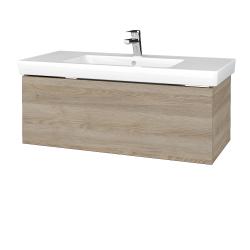 Dřevojas - Koupelnová skříňka VARIANTE SZZ 100 - D17 Colorado / D17 Colorado (272371)