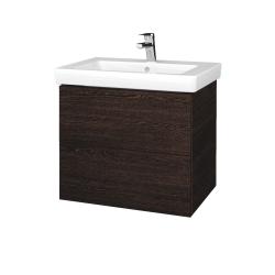 Dřevojas - Koupelnová skříňka VARIANTE SZZ2 65 - D08 Wenge / D08 Wenge (273262)