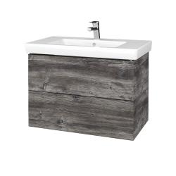 Dřevojas - Koupelnová skříň VARIANTE SZZ2 80 - D10 Borovice Jackson / D10 Borovice Jackson (273750)