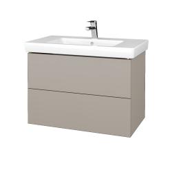Dřevojas - Koupelnová skříň VARIANTE SZZ2 80 - N07 Stone / N07 Stone (273866)