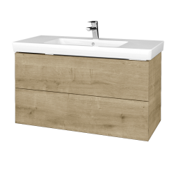 Dřevojas - Koupelnová skříň VARIANTE SZZ2 100 - D09 Arlington / D09 Arlington (274214)