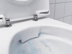 Geberit Icon Závěsné WC s hlubokým splachováním Rimfree 53cm Bílá 204060000 (204060000), fotografie 2/2