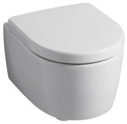 Geberit IconXS Závěsné WC s hlubokým splachováním zkrácené vyložení uzavřený tvar 49cm Bílá 204030000 (204030000)