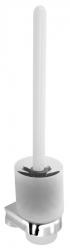 SAPHO - Nástěnná WC štětka, chrom (122219)