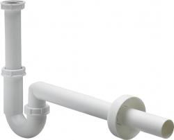 """Sifon 5/4"""" x 40 """"S"""" spodek, plastový bílý umyvadlový, model 5611K  406462 (V 406462) - VIEGA  s.r.o."""