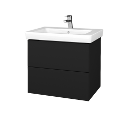 Dřevojas - Koupelnová skříňka VARIANTE SZZ2 65 - N08 Cosmo / N08 Cosmo (273408)