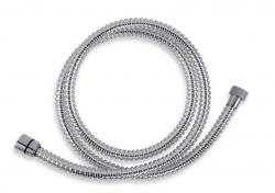 NOVASERVIS - Sprchová hadice plastová 150 cm chrom (SPIRAL/150,0), fotografie 2/1