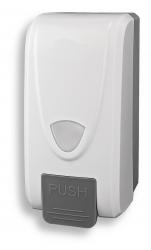 NOVASERVIS - Zásobník na tekuté mýdlo 1000 ml, bílý (69083,1), fotografie 2/3