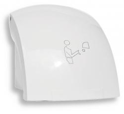 NOVASERVIS - Elektrický senzorový osoušeč rukou, 1500 W, bílý (69091,1), fotografie 2/3