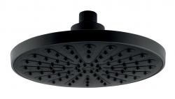 NOVASERVIS - Pevná hlavová sprcha, průměr 200 mm, černá (RUP/200,5), fotografie 2/1