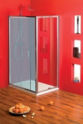 GELCO - SIGMA boční stěna, 1000 mm, čiré sklo (SG1570), fotografie 2/3