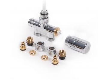 TERMA Integrovaná sada termostatická s ponornou trubicí,chrom, rohová, levá WRZT5G5-CR WRZT5G5-CR