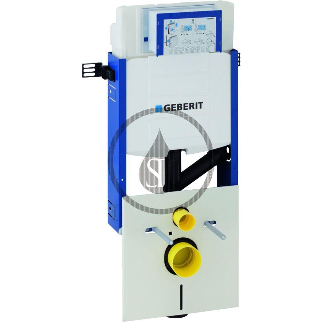 GEBERIT Kombifix Montážní prvek pro závěsné WC, 108 cm, splachovací nádržka pod omítku Sigma 12 cm, pro odsávání zápachu 110.367.00.5