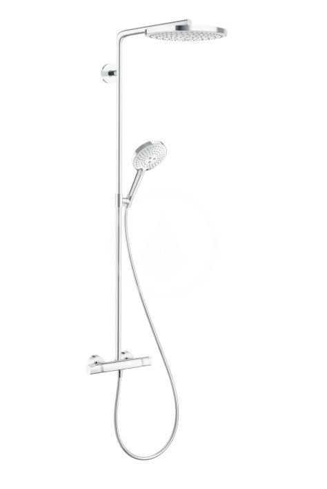 HANSGROHE Raindance Select S Sprchový set s termostatem, 240 mm, 2 proudy, chrom 27129000