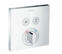 HANSGROHE - Shower Select Baterie pod omítku pro 2 spotřebiče, chrom (15768000)